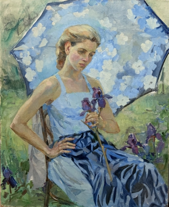 «Летом в саду» 1990 е - Титаренко Мария Анатольевна