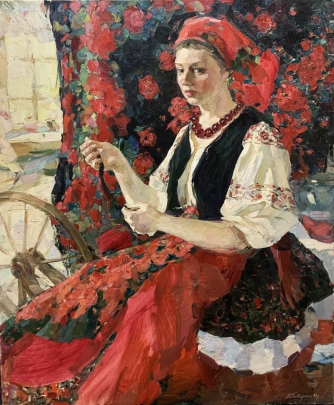 «У прялки» 1994 - Титаренко Мария Анатольевна