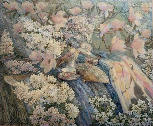 «Магнолии. Пробуждение Весны» 1999 - Титаренко Дарья Анатольевна