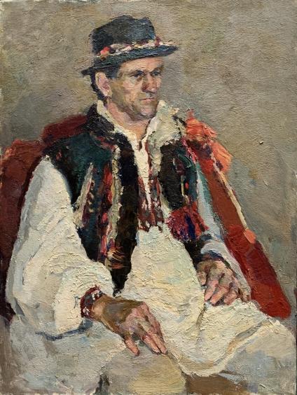 «Портрет гуцула» 1990 е - Титаренко Мария Анатольевна