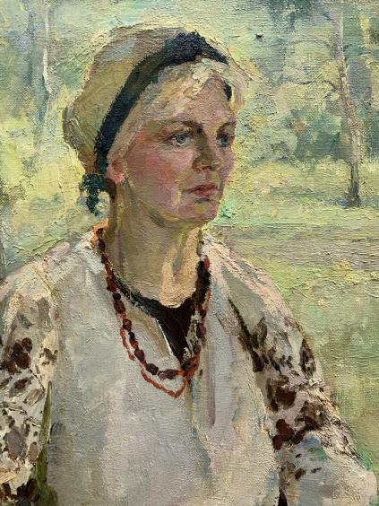 «Девушка в саду»-Титаренко Дарья Анатольевна