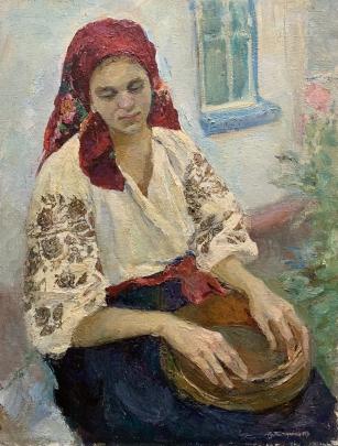 «Мария в красном платке» 1989 - Титаренко Дарья Анатольевна