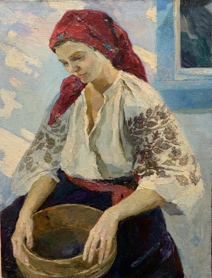 «Одарка в красном платке» 1989 - Титаренко Мария Анатольевна