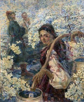 «У колодца» 1990 е - Титаренко Дарья Анатольевна