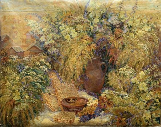 «На пасеке» 2005 - Титаренко Дарья Анатольевна