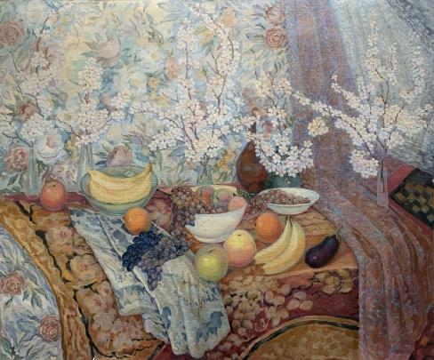«Натюрморт с фруктами» 2000 - Титаренко Дарья Анатольевна