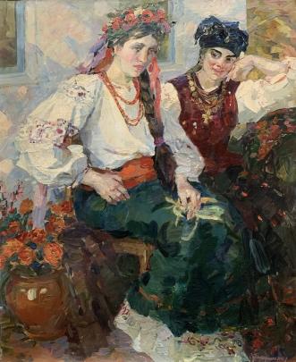 «Возле дома» 2002 - Титаренко Дарья Анатольевна