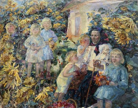 «Внуки» 1996 - Титаренко Мария Анатольевна