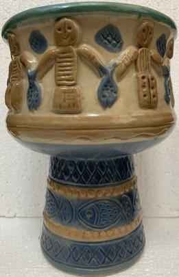 Декоративный кубок «Рыбаки» ЛКСФ 1960 е - Декоративный кубок «Рыбаки» ЛКСФ