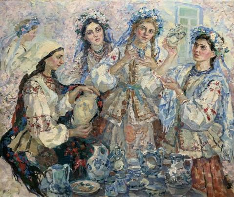 «Народные мастера-керамисты» 1990 е - Титаренко Дарья Анатольевна