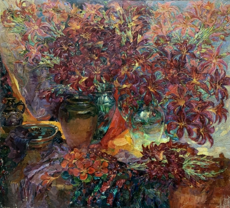 «Красные Лилии и Настурции» 2003 - Титаренко Мария Анатольевна