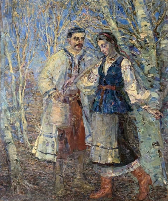«Свидание» 1995 - Титаренко Мария Анатольевна
