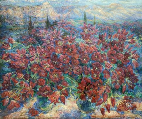 «Анталия. Долина Тюльпанов» 2004 - Титаренко Мария Анатольевна