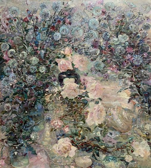 «Натюрморт с Розами» 2006 - Титаренко Мария Анатольевна