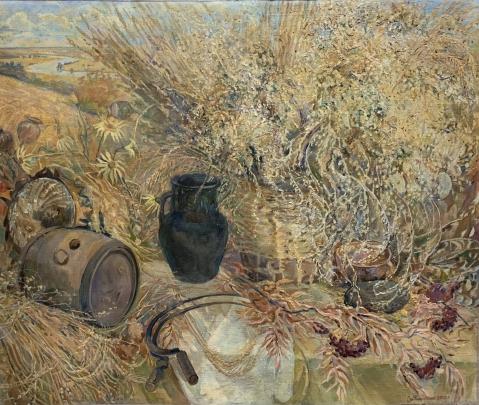 Натюрморт «Золотая жнива» 1997 - Титаренко Дарья Анатольевна