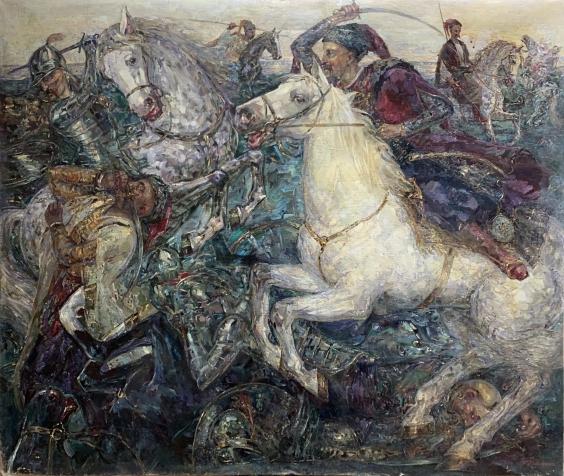 «Бой казаков с ляхами» 1998 - Титаренко Мария Анатольевна