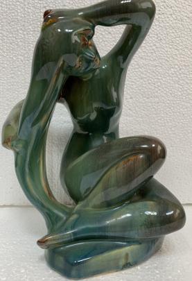 Декоративная статуэтка «Девушка» ЛКСФ 1970 е - Декоративная статуэтка «Девушка» ЛКСФ