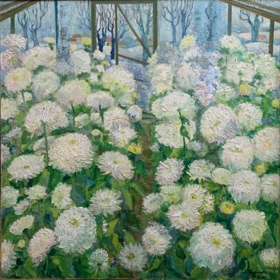 «Цветы зимой» 1982 - Мандрикова — Дончик Надежда Алексеевна
