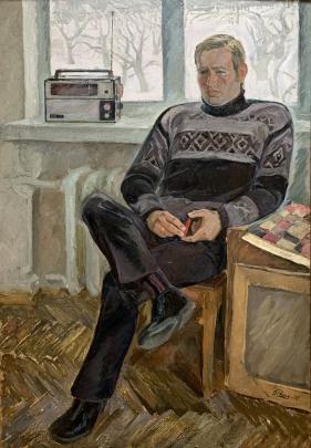 «Портрет мужа» 1972 - Репка Вера Александровна