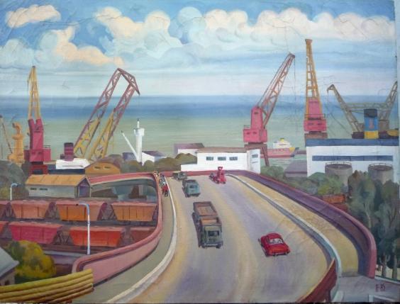 «Дорога в порт» 1985 - Скорлупин Евгений Петрович