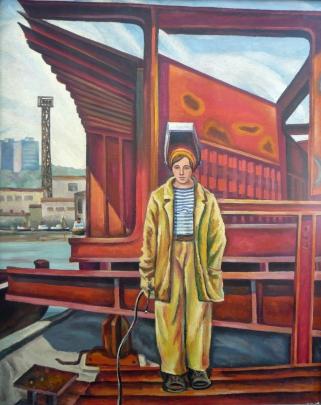 «Сварщица» 1973 - Скорлупин Евгений Петрович