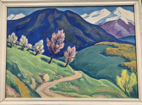 «Весна в горах»-Шелюто Александр Николаевич