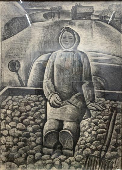 «Для города» из серии «Труженики Подолья» 1970 - Андрийчук Михаил Емельянович