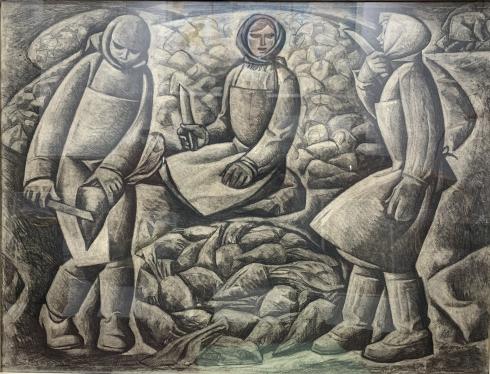 «Сладкий корень» из серии «Труженики Подолья» 1970 - Андрийчук Михаил Емельянович