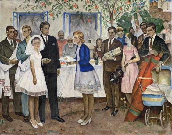 «Комсомольская свадьба» 1972 - Мацкин Рувим Израилевич