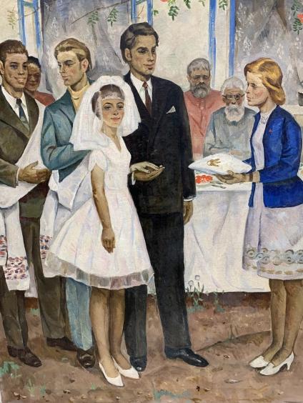 «Комсомольская свадьба»-Мацкин Рувим Израилевич