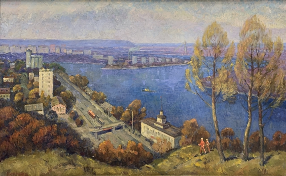 «Над Днепром» 1982 - Кикинев Василий Матвеевич