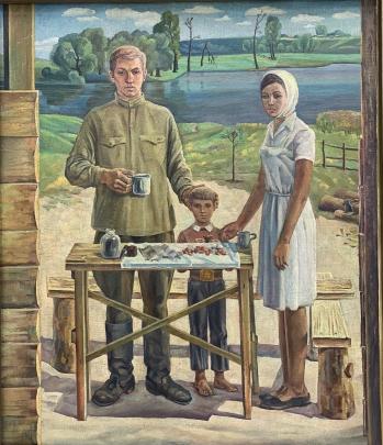 «Весна 1945 года» 1979 - Скорлупин Евгений Петрович