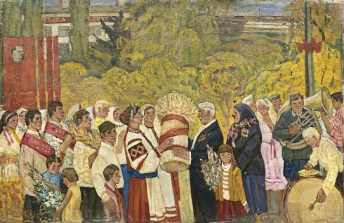 «Праздник Урожая» 1970 е - Черный Михаил Никифорович