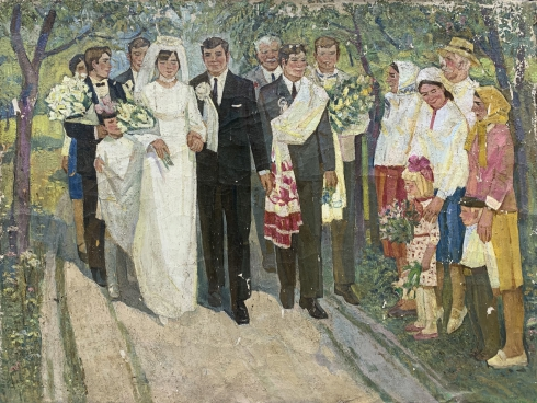 «Свадьба на селе» 1970 е - Черный Михаил Никифорович